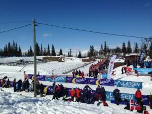 1095 skiskyttere fra hele landet + Sverige og Frankrike deltok.