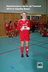 08. Turneringens beste spiller. Camilla Aabel